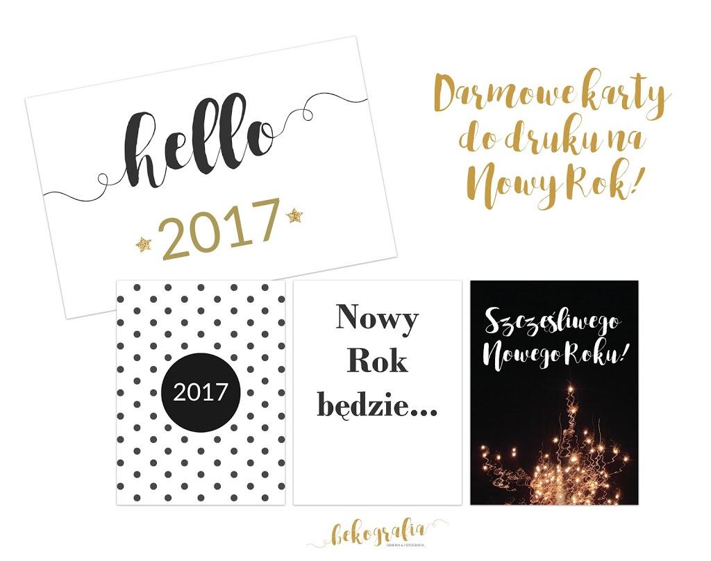 Darmowe karty na Nowy Rok