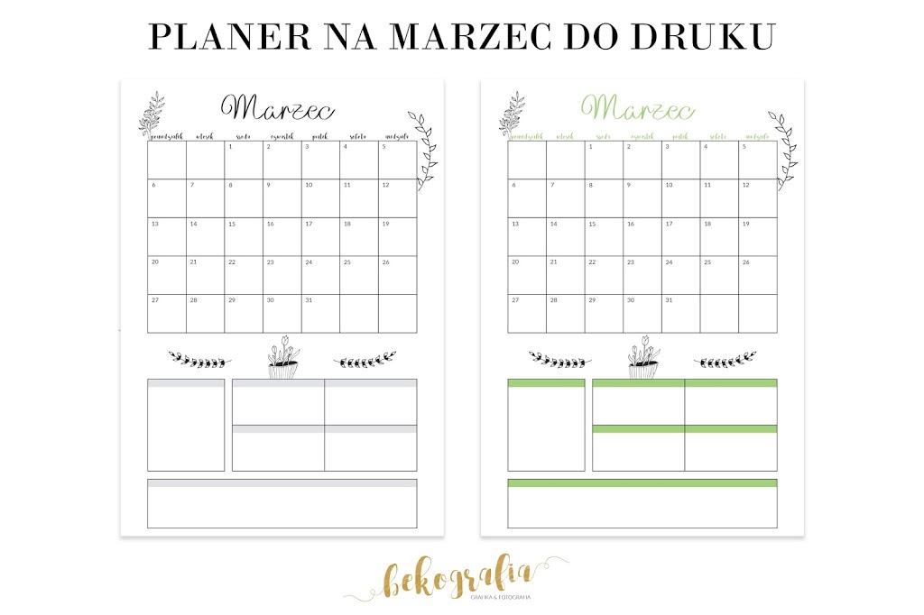 Planer na marzec 2017 do druku